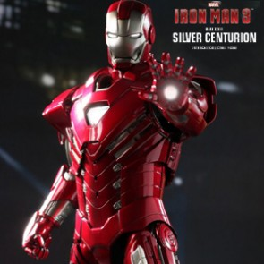 Iron Man Mark XXXIII Silver Centurion