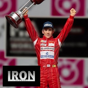 Iron Studios - Ayrton Senna - GP Japan 1988 - Art Scale Statue