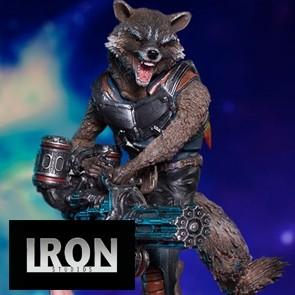 1/10th Rocket & Groot - Battle Diorama Series - Iron Studios