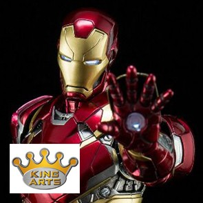 1/9 Iron Man Mark XLVI - Civil War - Diecast - King Arts