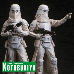Snowtrooper Twin Pack - Star Wars - ArtFX+ Statues