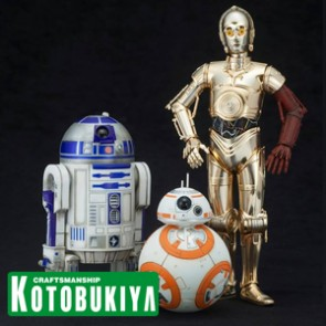 C-3PO, R2-D2 & BB-8 - Star Wars Episode VII