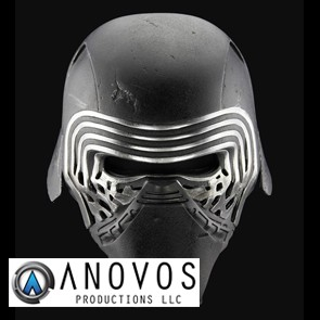 1:1 Kylo Ren Helm - Star Wars Episode VII - Anovos