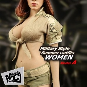 Magic Cube - Sexy Military Style Summer Outfits - M048A