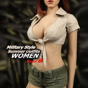 Magic Cube - Sexy Military Style Summer Outfits - M048B