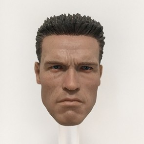 Male Head Sculpt - AS002 - 1/6th Head Sculpts