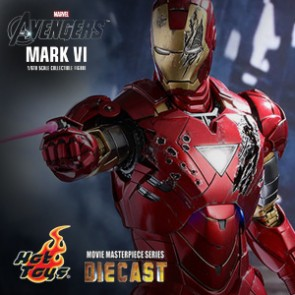Iron Man Mark VII - The Avengers DIECAST - HotToys