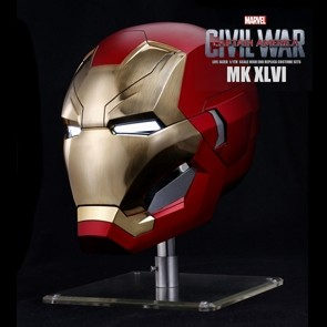 Iron Man Mark XLVI 46 - Helmet Replica - Captain America Civil War