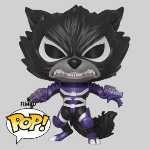 Funko Pop - Venomized Rocket - Vinylfigur - 515
