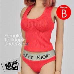 Magic Cube - Female Underwear - Red - F-059B
