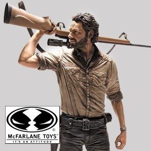 Rick Grimes - Walking Dead TV (Deluxe Actionfigur)