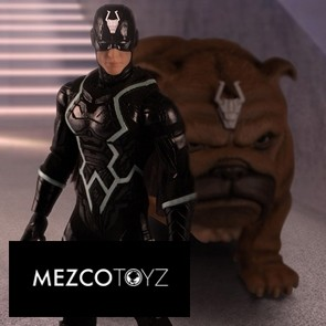 Mezco Toyz - Black Bolt and Lockjaw - Marvel - The One:12 Collective