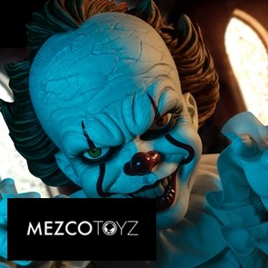 Mezco Toyz - Pennywise Puppe - ES - MDS Roto Plush