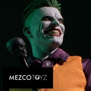 The Joker: Clown Prince of Crime Edition - Mezco Toyz