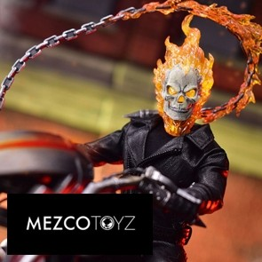 Mezco Toyz - Ghost Rider & Hell Cycle - The One:12 Collective