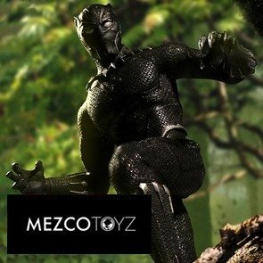 1/12 Black Panther - Mezco Toys