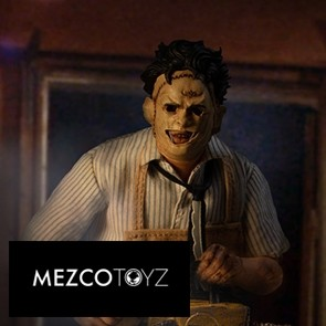 Mezco Toyz - Leatherface - The Texas Chainsaw Massacre - One:12 -Reihe - Deluxe Edition