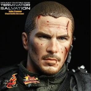 Hot Toys - Terminator - Salvation - John Connor Final Battle Version - Ausstellungsstück