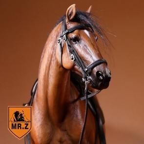1/6th German Hanoverian Warmblood Horse - Brown  - Mr. Z