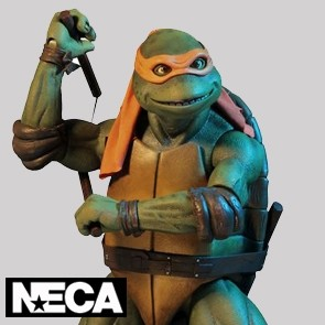NECA - Michelangelo - Teenage Mutant Ninja Turtles - 1990 Movie - 1/4 Actionfigur
