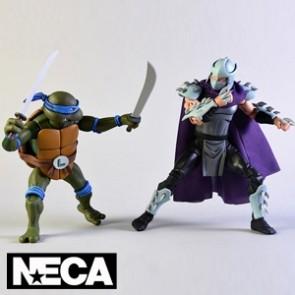 NECA - Leonardo vs Shredder - Teenage Mutant Ninja Turtles
