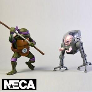 NECA - Donatello vs Krank in Bubble Walker - Teenage Mutant Ninja Turtles