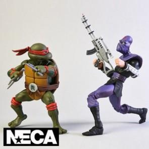 NECA - Raphael vs Foot Soldier - Teenage Mutant Ninja Turtles