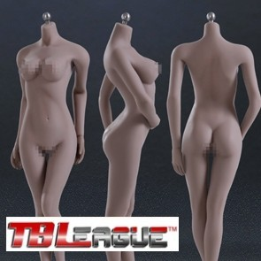 Phicen Female Seamless Body Middle Breast Size Suntan Series S02A
