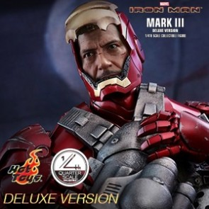 1/4th Iron Man Mark III Deluxe Ver. - Iron Man - Hot Toys
