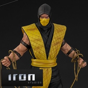 Iron Studios - Scorpion - Mortal Kombat - Art Scale Statue