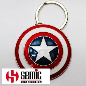 Captain America Shield - Schlüsselanhänger