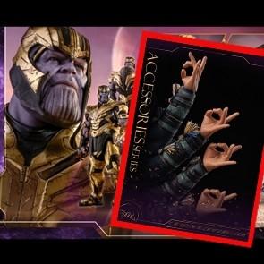 Hot Toys Thanos - Endgame + Dr. Strange Accessories Series Arms (