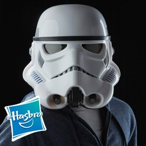 Hasbro - Star Wars Elektronischer Helm - Imperial Stormtrooper - Black Series