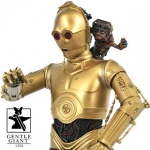 Gentle Giant - C3Po & Babu Frik - Star Wars Episode IX - 1/6 Büste