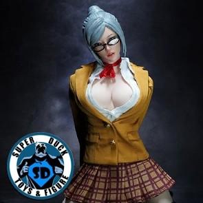Super Duck - Sexy Clothing Set - Teacher Mistress SET044A