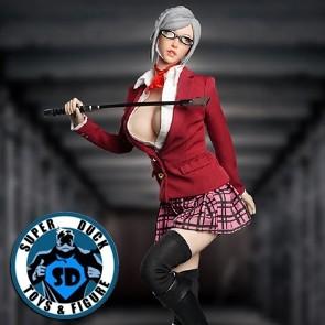 Super Duck - Sexy Clothing Set - Teacher Mistress SET044B