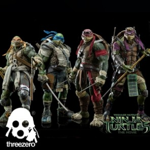 Threezero - Teenage Mutant Ninja Turtles Set - 1/6th Scale