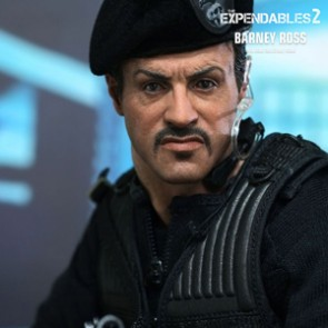 Hot Toys - Barney Ross - The Expendables 2 AUSSTELLUNGSSTÜCK