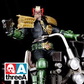 udge Dredd & Lawmaster - 2000 AD - threeA