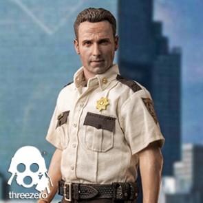 Threezero - Rick Grimes - The Walking Dead Saison 1 - Action Figur