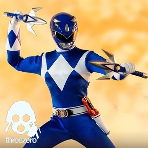 Threezero - Mighty Morphin Power Rangers - Blue Ranger - 1/6 Actionfigur