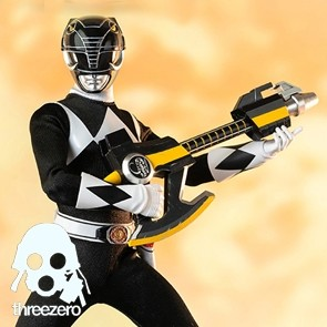 Threezero - Mighty Morphin Power Rangers - Black Ranger - 1/6 Actionfigur