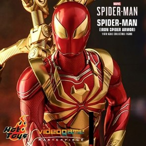Hot Toys - Spider-Man - Iron Spider Armor - Marvel's Spider-Man - PS4 Videogame