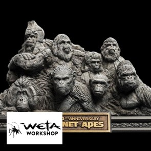 Planet der Affen - Statue Apes Through the Ages - WETA