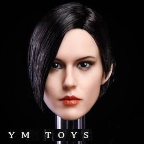 YM TOYS - Female Head Sculpt - YMT015A - 1/6th Head Sculpts