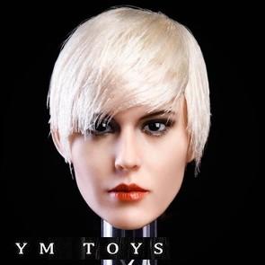 M TOYS - Female Head Sculpt - YMT015B - 1/6th Head Sculpts