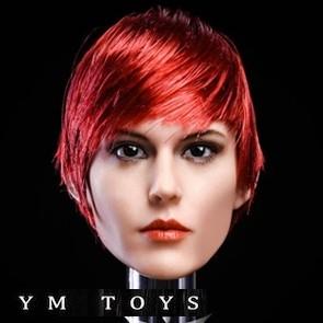 YM TOYS - Female Head Sculpt - YMT015C - 1/6th Head Sculpts